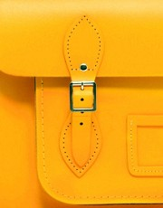 Sachel de 14&quot; de cuero de The Cambridge Satchel Company
