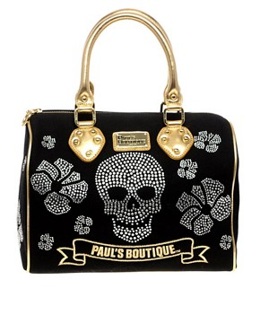 Image 1 ofPaul&#39;s Boutique Exclusive To Asos Diamante Molly Bag
