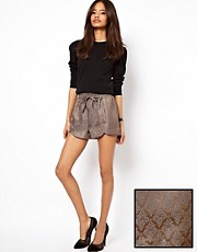 ASOS &ndash; Shorts mit Jacquardmuster