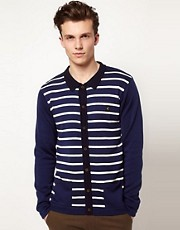 Gabicci Canvey Striped Cardigan