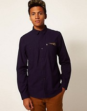 Boxfresh - Caddensa - Camicia in twill