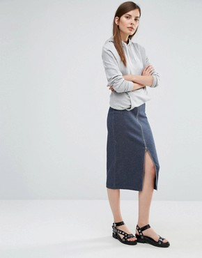 Selected Sweat Pencil Skirt