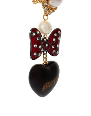 Image 3 ofMinnie Mawi By Disney Couture Minnie Bow Earrings