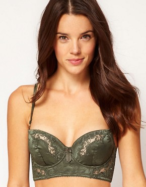 Image 1 ofElle Macpherson Intimates Exotic Garden Balconette Longline Bra