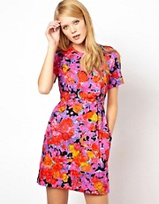 Whistles Victoria Floral Cotton Dress