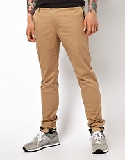 DRMTM Chinos With Camo Hem