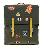 Lazy Oaf Patches Square Backpack