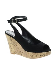 New Look Harper 2 Ankle Strap Wedge Sandals