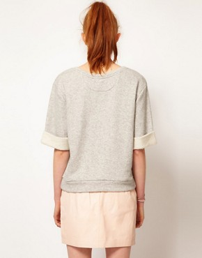 Image 2 ofADAM by Adam Lippes Short Sleeve Sweatshirt