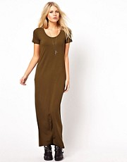 ASOS Maxi Dress With T-Shirt Sleeve