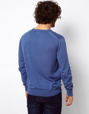 Image 2 ofPaul Smith Jeans Jumper in V Neck with Zebra