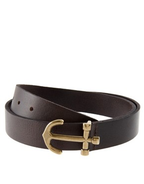 Image 2 ofASOS Anchor Buckle Belt