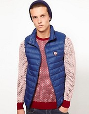Puffa Gilet with Lightweight Down