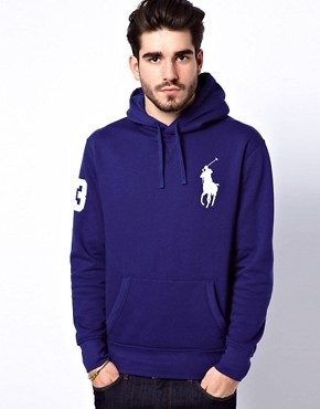 Image 1 ofPolo Ralph Lauren Hoodie With Big Polo Player