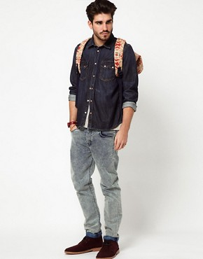 Image 4 ofNudie Shirt Guston Denim Organic Blue