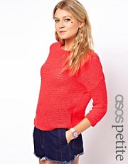 ASOS PETITE Exclusive Neon Jumper