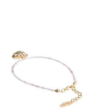Image 2 ofOrelia Exclusive To ASOS Disc Set Bracelet