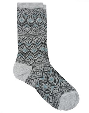 Image 1 ofFalke Fair Isle Socks