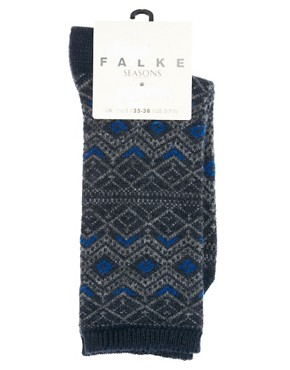 Image 3 ofFalke Fair Isle Socks