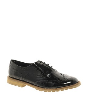 Image 1 ofASOS MARCH Leather Brogues