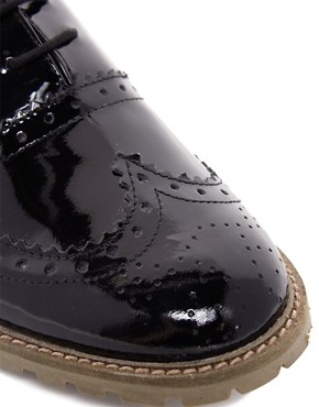 Image 2 ofASOS MARCH Leather Brogues