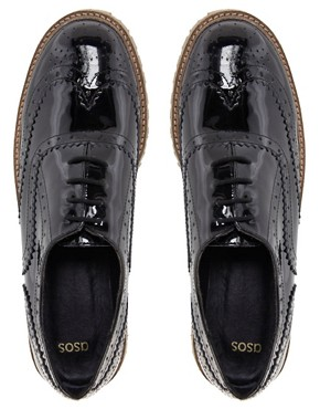 Image 3 ofASOS MARCH Leather Brogues