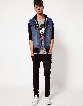 Image 4 ofASOS Sleeveless Denim Jacket