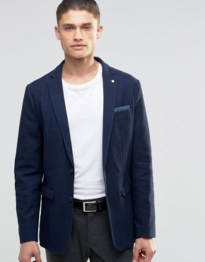 Selected Homme Blazer in Texture with Stretch