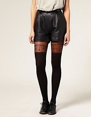 ASOS Lucky Charms Suspender Sheer Tights
