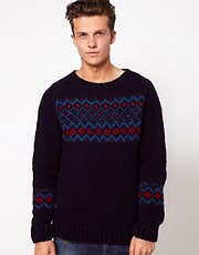 People Tree Fairisle Sweater