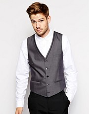 River Island Paulo Suit Waistcoat