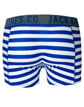 Image 2 ofJack &amp; Jones Bayou 4 Pack Trunks