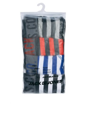 Image 4 ofJack &amp; Jones Bayou 4 Pack Trunks