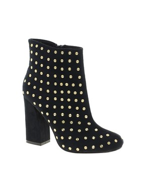 Image 1 ofASOS APOLLO Studded Ankle Boots