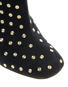 Image 4 ofASOS APOLLO Studded Ankle Boots