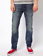 Lee 101 Z Jeans Regular Fit Kaihara Blue Selvage