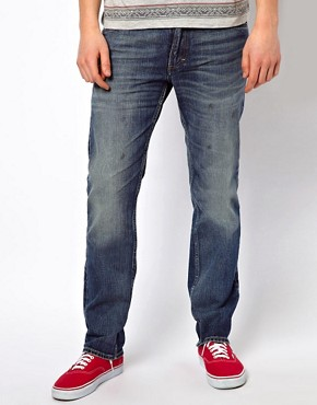 Image 1 ofLee 101 Z Jeans Regular Fit Kaihara Blue Selvage