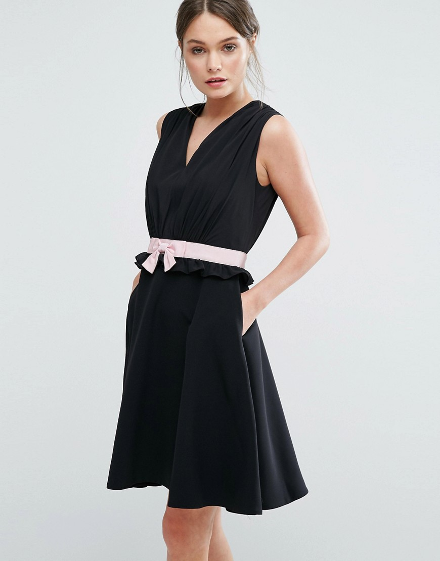 Ted Baker Vexi Skater Dress - Black