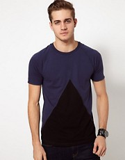 ASOS T-Shirt With Triangle Insert