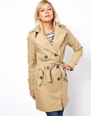 ASOS Zip Detail Trench
