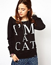 Kill Star I&#39;m A Cat Sweater