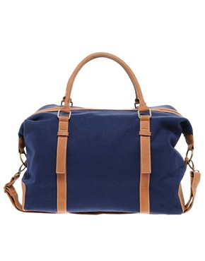 Image 1 ofRiver Island Canvas Holdall