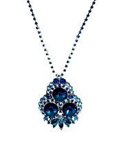 ASOS Jewelled Bouquet Pendant Necklace
