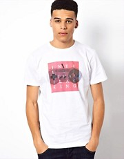 WESC T-Shirt Exclusive To Asos Intellectual Slacking Gameboy
