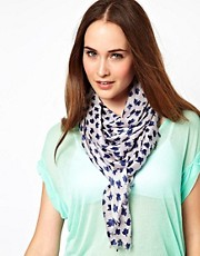 French Connection Ditsy Lightweight Scarf
