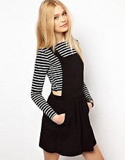River Island Mini Pinafore Dress