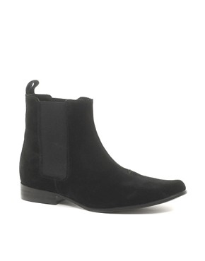 Image 1 ofASOS Chelsea Boots in Suede