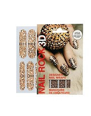 Parches para uas de diseador en 3D de Nail Rock