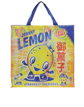 Image 1 ofBlue Q Lemon Cartoon Shopper