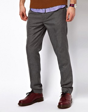 Image 1 ofGant Rugger Trousers in Herringbone